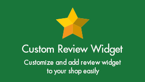 Custom Review Widget