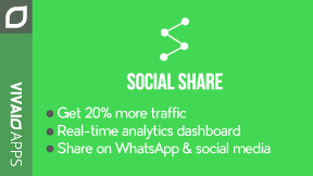 Social Share: Whatsapp & More