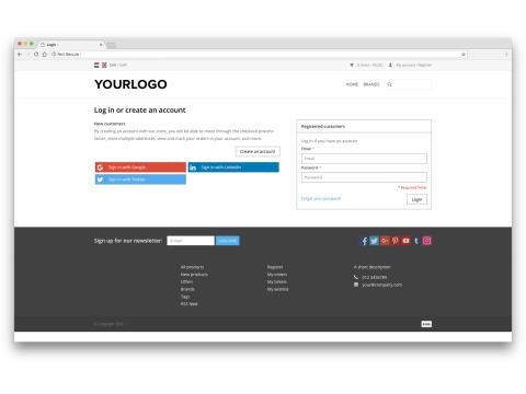 Social login – Google | Apps