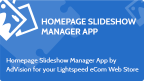 Homepage Slideshow Manager